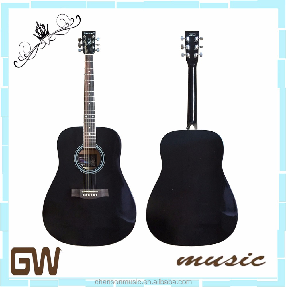 Chanson musical chinese electric replica acoustic guitar