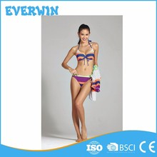 Mix Sexy Beach Triangle Color Transparent Bikini Bottom