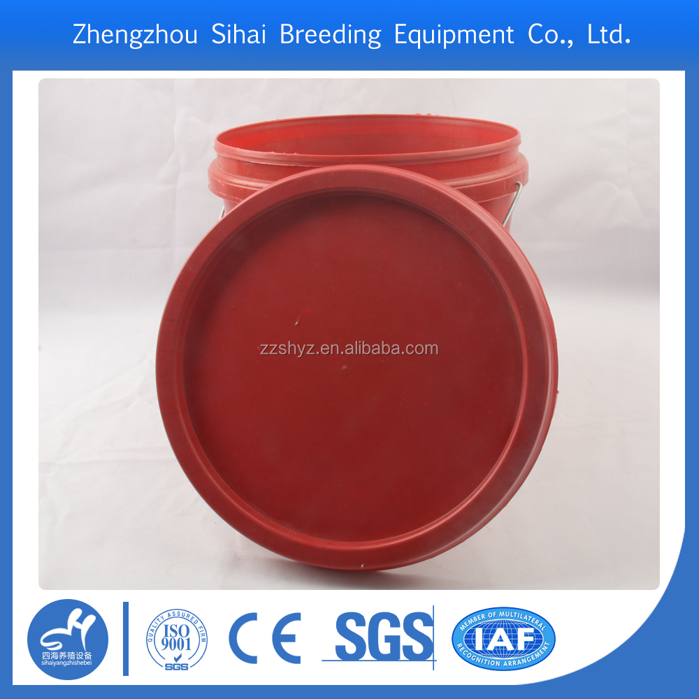 China manufacturer plastic packaging pail for industry