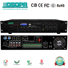 DSPPA MP210U 60W 6 Zones Paging and Music Mixer Amplifier with USB&Tuner
