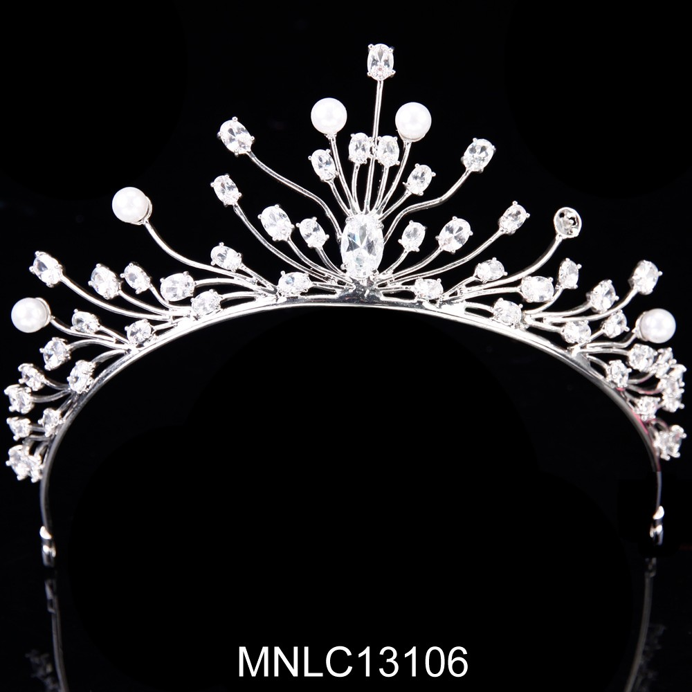 Hot selling fashion bling zircon wedding hair accessories