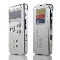8GB Music playing function One button Eeay operation detective voice recorder