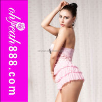 Paypal accept lace pink fat women lady sexy babydoll