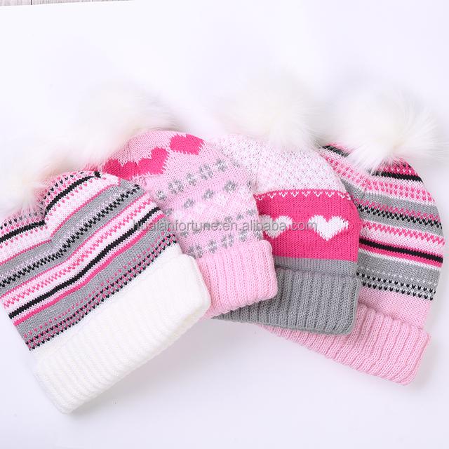 Custom Women Slouchy Beanie Hats Winter,simple Acrylic Knitted Hat