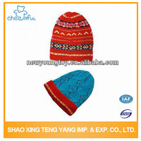 New product Latest design Funny Winter adult knitted hat