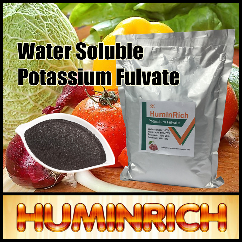 Huminrich Enhance Soil Sturcture Best Prices Organic Fertilizer Potassium Humate Humic Acid 95%