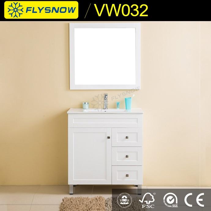 Hangzhou Pvc Cabinet Cheap Bathroom Vanity For Wholesales