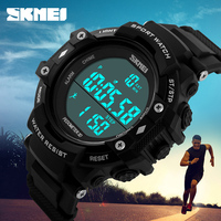 SKMEI best brand hot sale 5ATM water resistant custom logo sports digital watch 1128