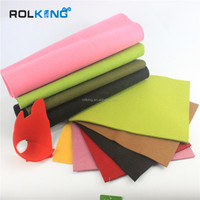 2016 top-rated colorful wool felt fabric Patchwork Sewing DIY crafts