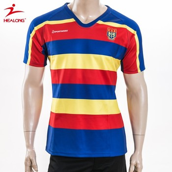2015 Latest Custom profearssional rugby shirts rugby wear wholesale