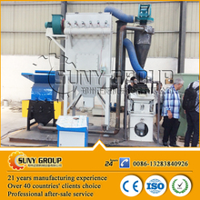 Used Scrap Cable Wire Peeling Recycle Machine/Waste Cable Copper Rice Machine