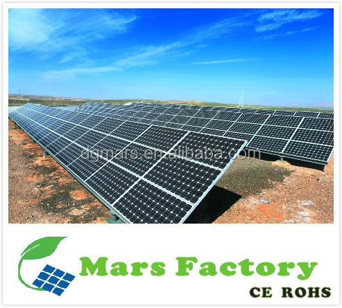 Dongguan Mars Roof 3kw on grid solar energy home system