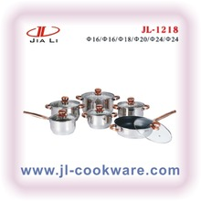2015 new products italian style aluminum non-stick cookware set cast iron vietnam