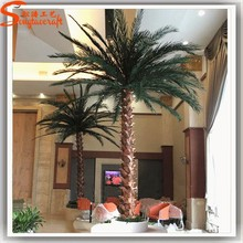 Hot sale mini palm tree plant artificial palm tree wedding decorations decorative metal palm trees