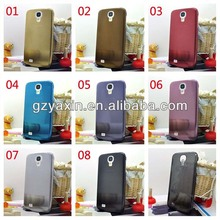 Brushed metal back case for samsung galaxy s4,defender case for samsung galaxy s4