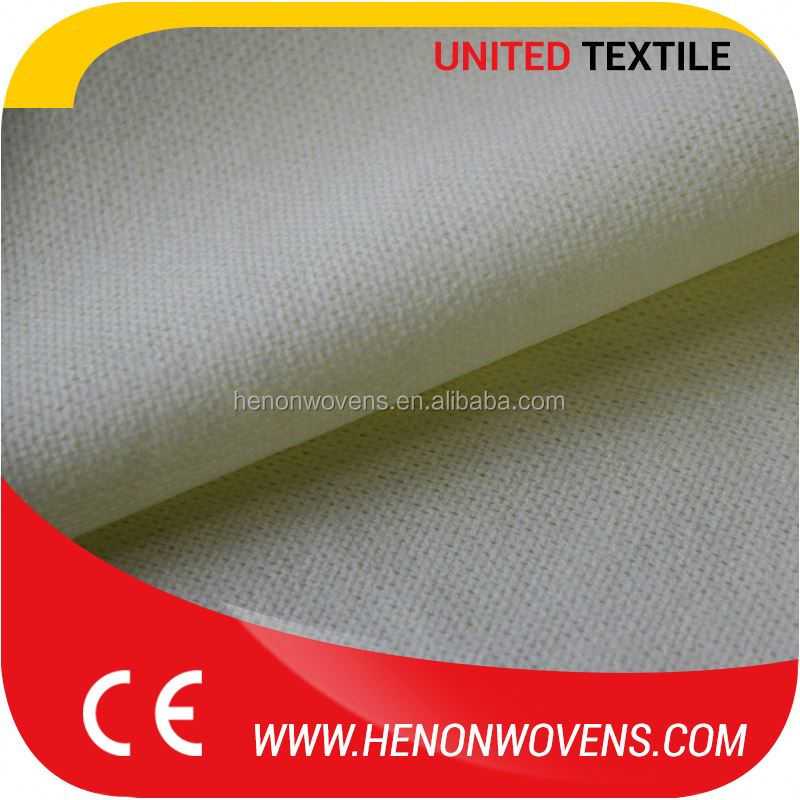 Excellent Goods At Reasonable Prices Nonwoven Bamboo Fiber Material White Mesh Spunlace Fabric