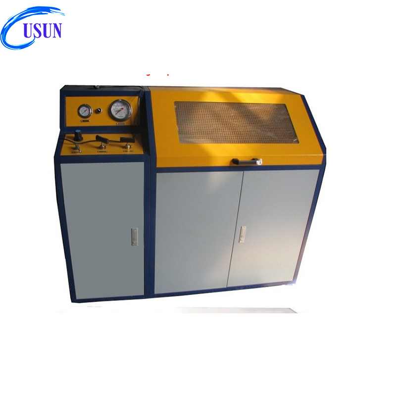 USUN brand Model: US-BPT-G400-MC 0-30MPA manual control burst pressure test bench for hose/pipelines