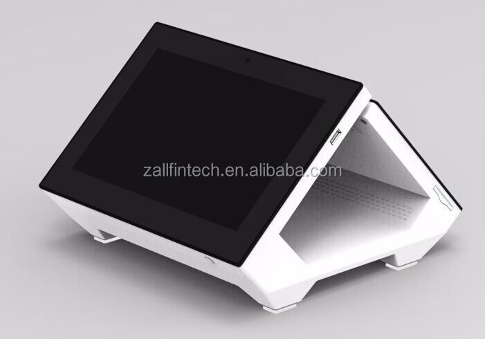 Android desktop dual touch screen pos