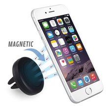 Universal Car Holder for Smartphone Magnetic Air Vent Mount Stand 360 Rotation car mobile Phone Holder for iPhone 7 5s 6s Plus