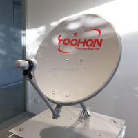 55cm KU band offset satellite dish antenna,satellite dish outdoor type