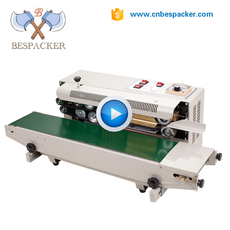 Popular continuous band sealing machine for bag sealer