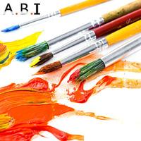 10pcs Wooden Art Paint Brush set