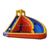 Used inflatable water slide for water sport
