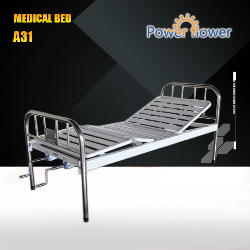 Cheapest 2 function manual cheap hospital bed