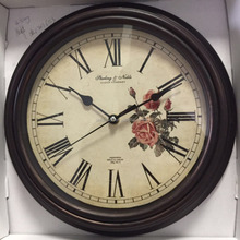 Watch Design Antique Wall Clock Wanduhr