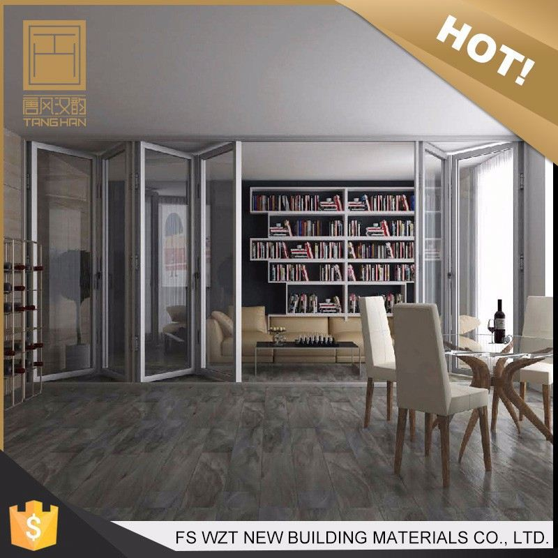 China gold supplier outward opening new aluminium puerta exterior bi folding door