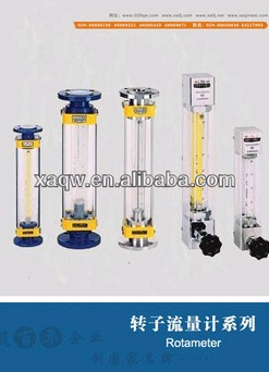 glass tube air rotameter /float flowmeter
