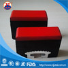 Impact resistant red UHMWPE with rubber buffer strip