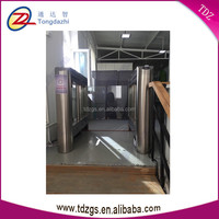 shenzhen RFID card reader glass lock turnstile&automatic swing gate in security access control system