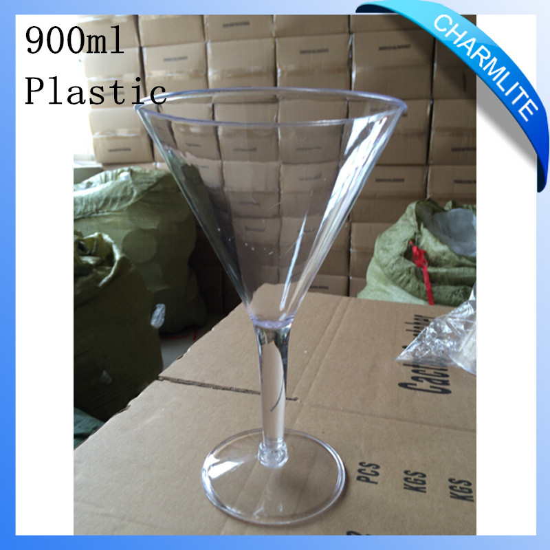 900ml/32oz Large Size Plastic Martini Glass