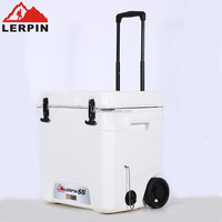 65L Large trolley cooler box/ice chest with wheels