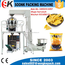 SK-220DT Automatic Potato Chips Weighing and Packing Machine