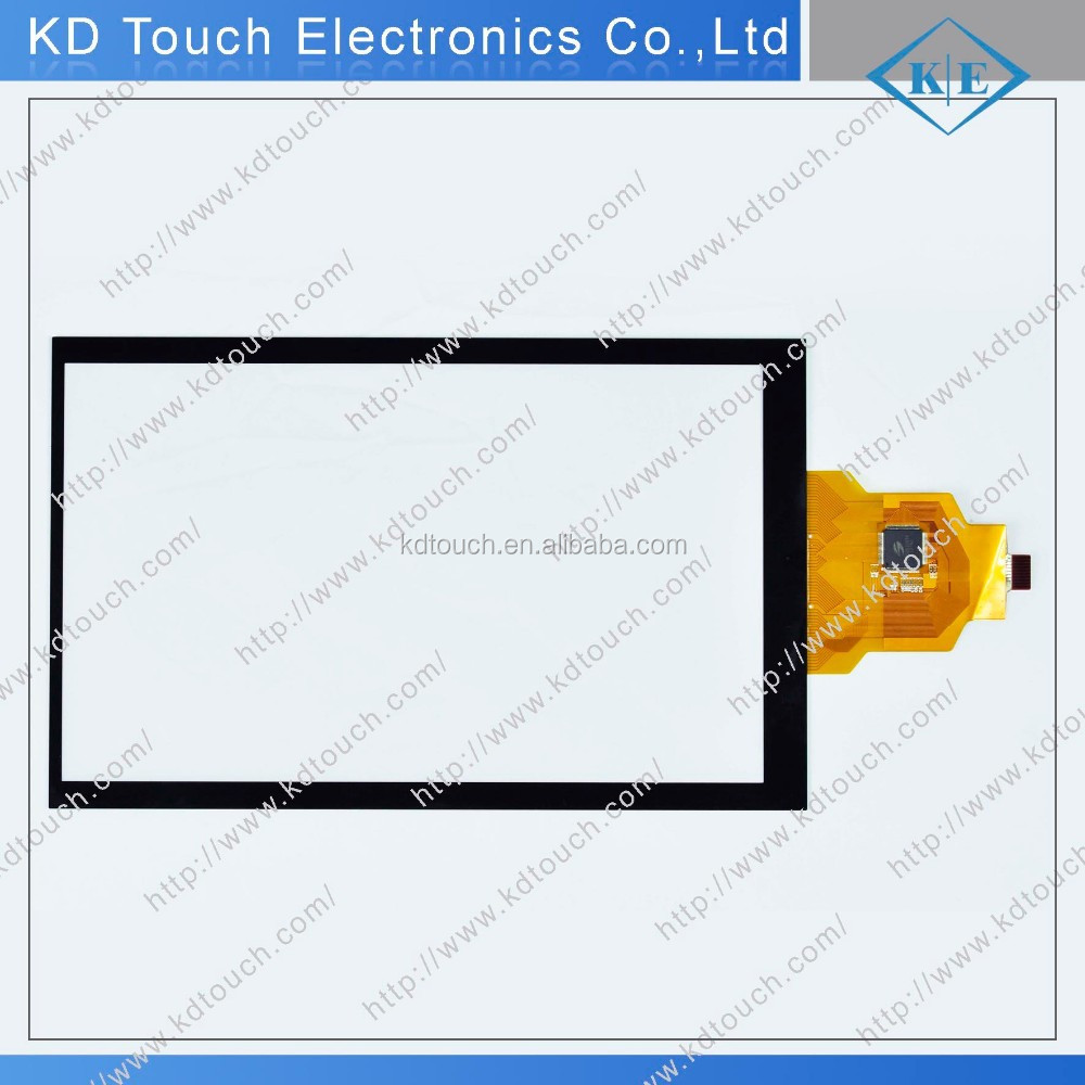Custom Elegant designed panel Anti-Glare capacitive touchscreen with USB controller