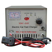 Alta temperatura DC output 24V Electric Car Battery Charger