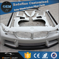 Modify Luxury Fiberglass Muscle M5 Style Body Kit for BMW F10