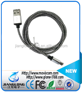 Micro USB Charging Cable Magnetic braid Metal Adapter Charger with usb 3.1 cable