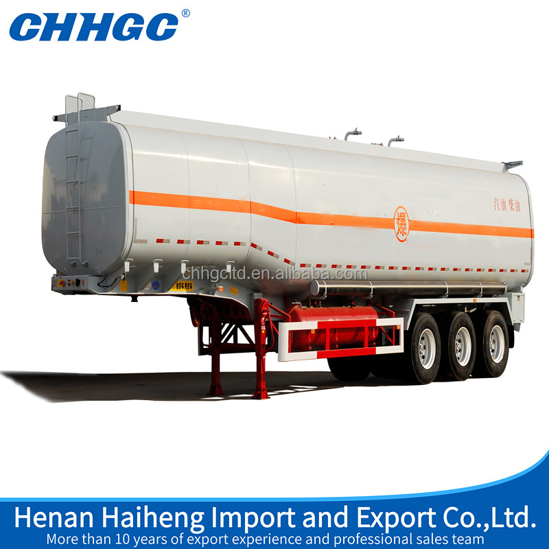 2016 oil saving 3 Axles Oil Tanker/fuel tanker Trailers 40000 Liters Fuel Tank Semi Trailer Gasoline Transport Tank Trailer