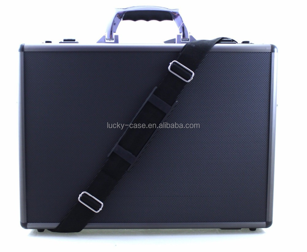 Aluminium Briefcase Laptop Bag Travel Flight Pilot Carry Case