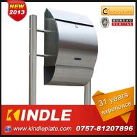 Kindle low cost commercial lockable customized wholesale locking mailboxes with 31 years experience