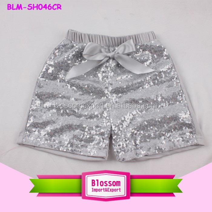 2017 Sequin Shorts Kids Boutique Toddler Girls Shorts Panties Multi-color Shiny Harem Sparkling Sequin Shorts For Baby Children