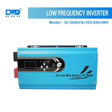 Rechargeable off grid portable power inverter 3000va solar inverter 12v 24v 48v dc to 220v ac