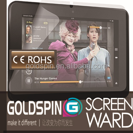 GOLDSPIN Japanese High Quality Clear Screen Protector for Kindle Fire HD 8.9