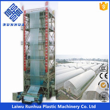 14 meters greenhouse blown film extrusion plant