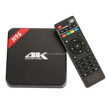 Newest Model Android 5.1 8GB NAND ROM h96 stb android hd 1080p smart iptv tv box