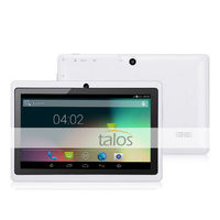 Professional OEM service 7 inch 512MB 8GB 7 inch tablet pc themes factory price with multi color