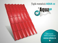 AQUA 3D metal roof tile